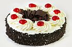 piece of black forest cake