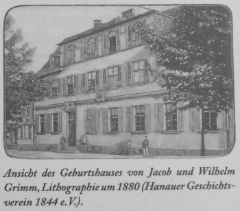 grimm brothers' house in hanau