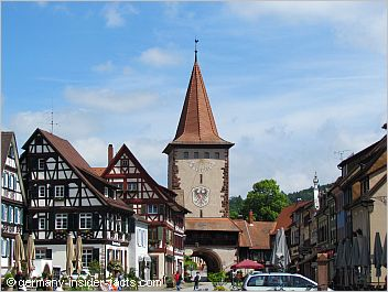 market square and tower