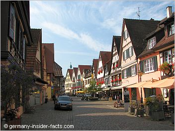 quiet lane in haslach
