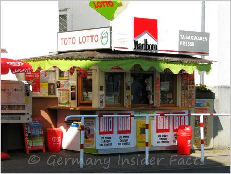 photo of a kiosk