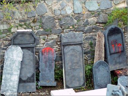 frankenstein tomb stones