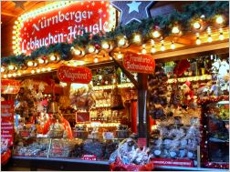 stall with christmas sweets