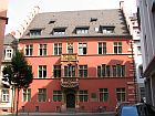 colourful building in freiburg