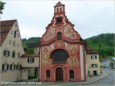 fussen germany spitalkirche