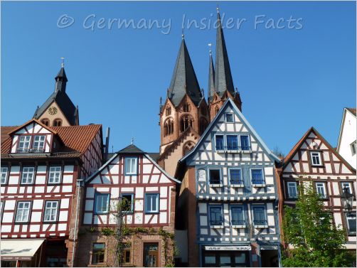 medieval half-timbered houses