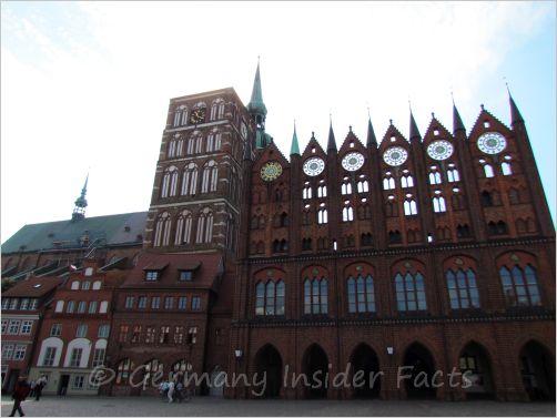 gothic bric facade
