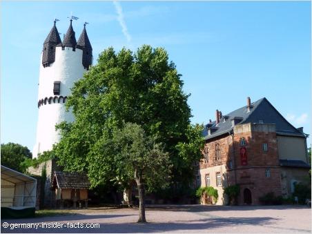 old castle in steinheim