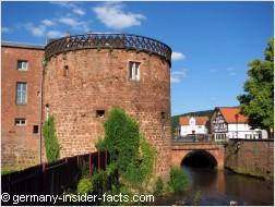 medieval gate in büdingen