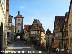 medieval towers and houses