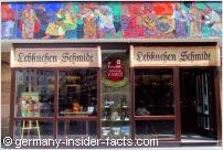 entrance lebkuchen store in nürnberg