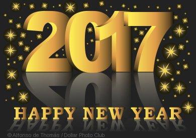 graphic wishing happy 2017