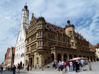 town hall rothenburg