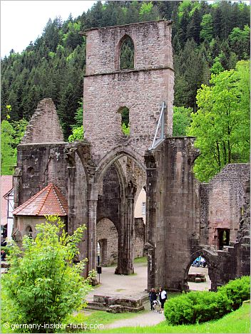 ruin of an old monastery
