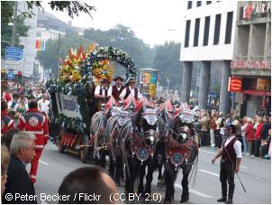 oktoberfest munich parade