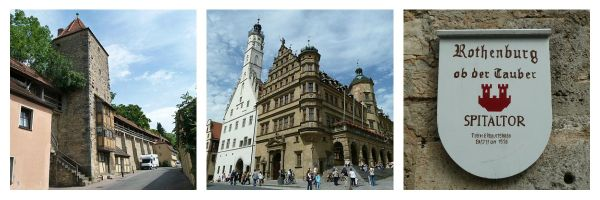 historic places in rothenburg germany