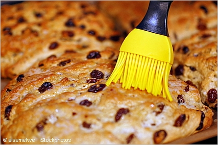 stollen recipe brush with butter