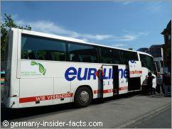 tour bus in frankfurt