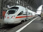 ice train in a station