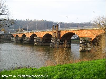 roman stone bridge is the oldest bridge in germany