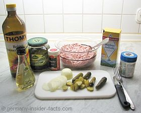 wurstsalat ingredients