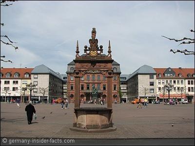 Market Square & Grimm Memorial Hanau