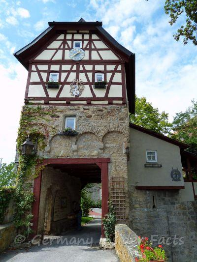 Gatehouse of Schloss Stetten