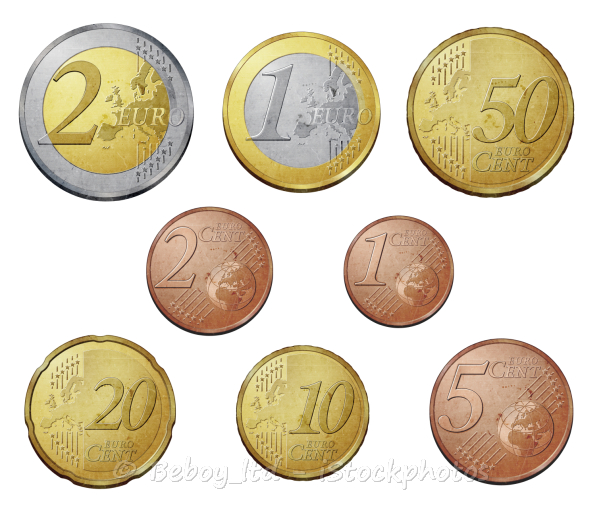 German Currency The Euro Is Money
