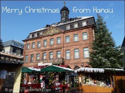Merry Christmas from Hanau