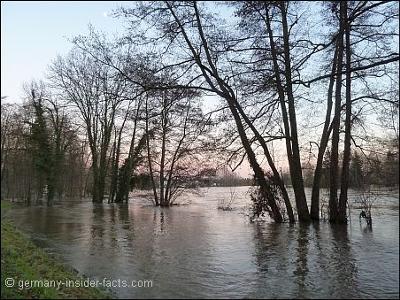 River Main in Hanau